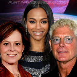 Group Interview: Sigourney Weaver, Zoe Saldana, and Stephen Lang