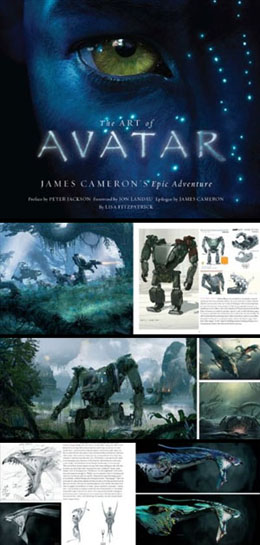 The Art of Avatar: James Cameron's Epic Adventure (Hardcover) - click for details
