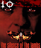 Number 10 - Silence of the Lambs - Average Rank Score: 11.67, Appears in 6 Polls