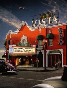 Vista Theater Poster