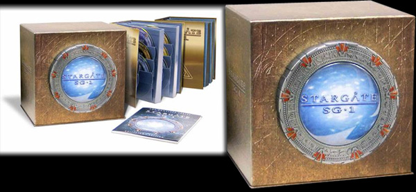 Stargate Sg1-Complete Series Collection
