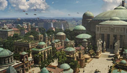 Sci-Fi Planet: Naboo from Star Wars
