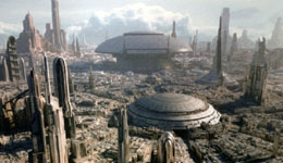 Sci-Fi Planet: Coruscant from Star Wars